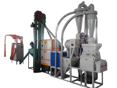 Automatic hot african machine shandong maize/corn milling machine